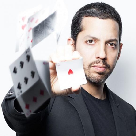 David Blaine at Saeger Theatre - New Orleans