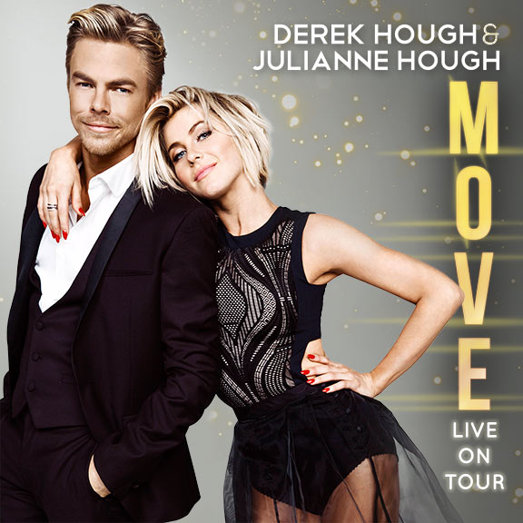 Move Live On Tour: Julianne & Derek Hough at Saeger Theatre - New Orleans