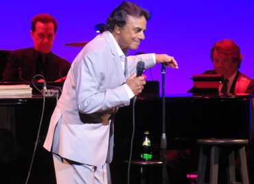 Johnny Mathis at Saeger Theatre - New Orleans