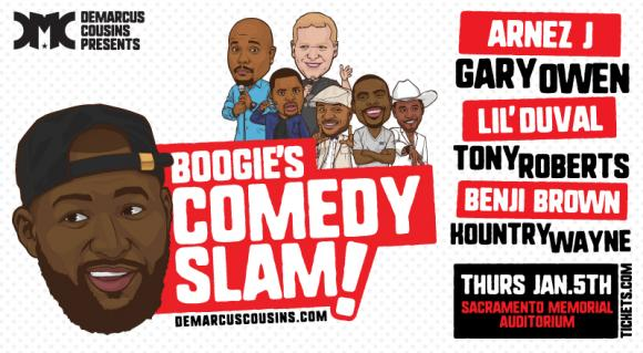 Boogie's Comedy Slam at Saeger Theatre - New Orleans