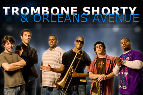 Trombone Shorty & Orleans Avenue at Saeger Theatre - New Orleans