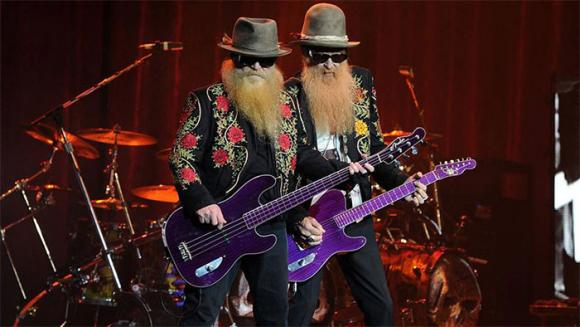 ZZ Top at Saeger Theatre - New Orleans
