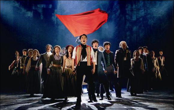Les Miserables at Saeger Theatre - New Orleans