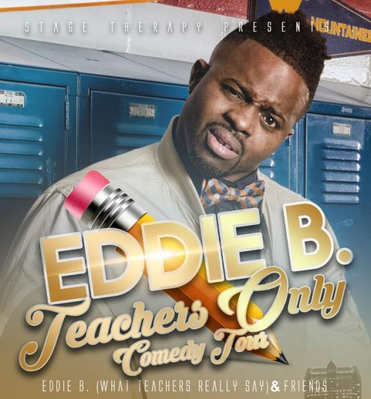 Eddie B at Saeger Theatre - New Orleans