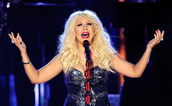 Christina Aguilera at Saeger Theatre - New Orleans
