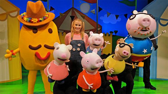 Peppa Pig at Saeger Theatre - New Orleans