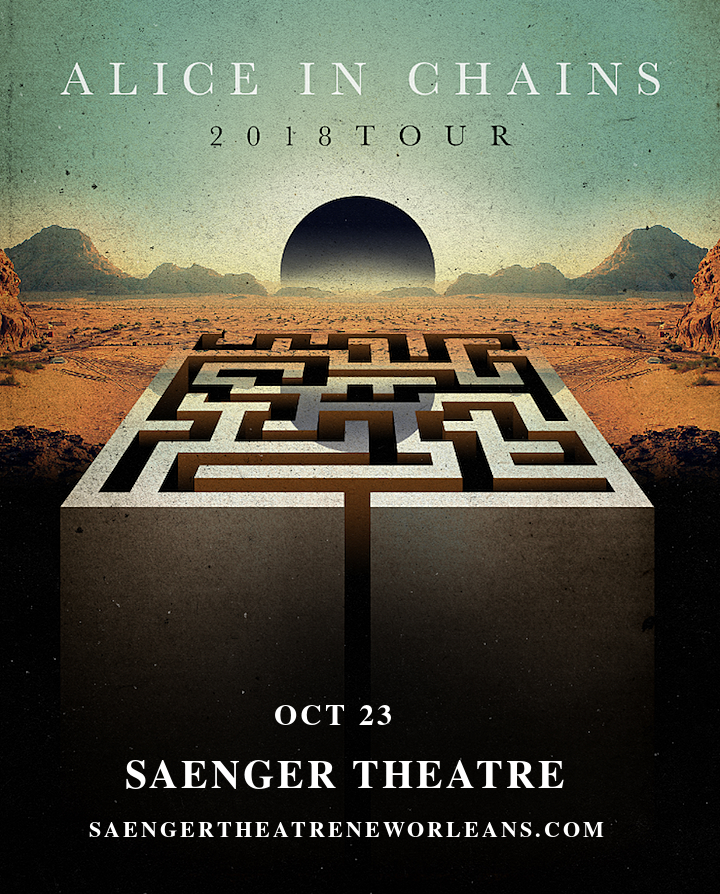 Alice In Chains at Saeger Theatre - New Orleans