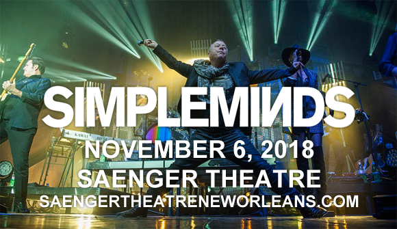Simple Minds at Saenger Theatre - New Orleans
