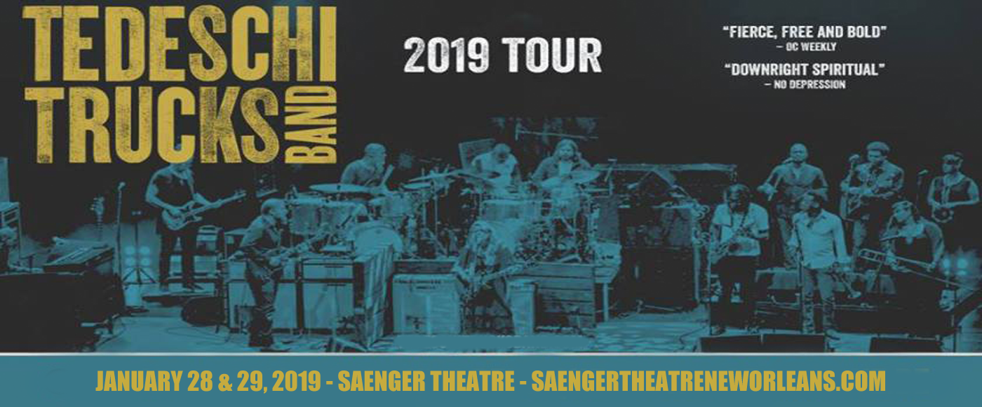 Tedeschi Trucks Band at Saenger Theatre - New Orleans
