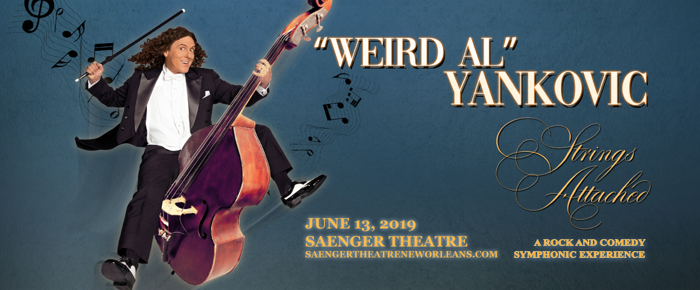 Weird Al Yankovic at Saenger Theatre - New Orleans