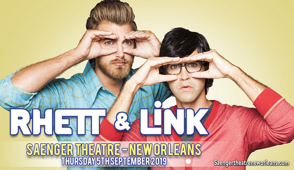 Rhett and Link at Saenger Theatre - New Orleans
