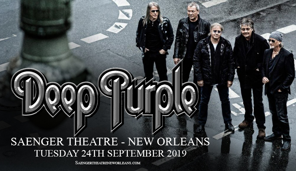 Deep Purple at Saenger Theatre - New Orleans