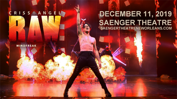 Criss Angel at Saenger Theatre - New Orleans
