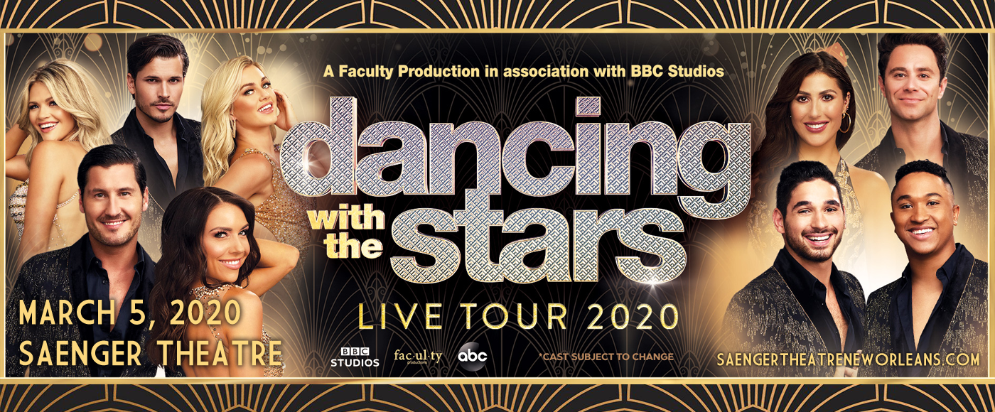 Dancing With The Stars at Saenger Theatre - New Orleans