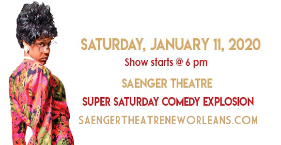 Super Saturday Comedy Explosion at Saenger Theatre - New Orleans