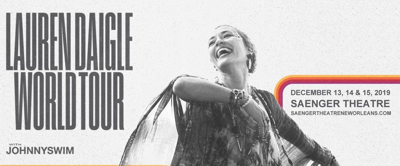 Lauren Daigle at Saenger Theatre - New Orleans