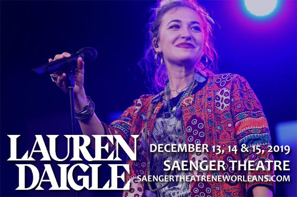Lauren Daigle at Saenger Theatre - New Orleans