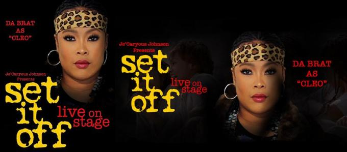 Je'Caryous Johnson's Set It Off at Saenger Theatre - New Orleans