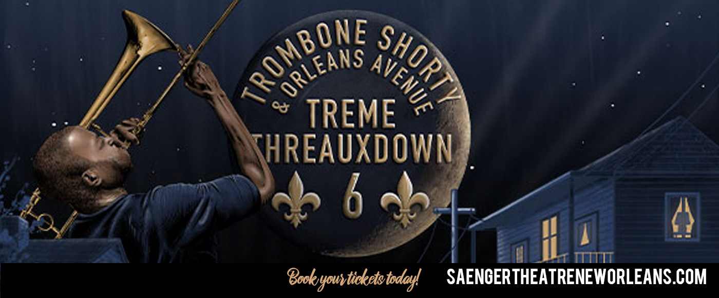 Trombone Shorty and Orleans Avenue at Saenger Theatre - New Orleans