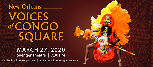 Voices of Congo Square at Saenger Theatre - New Orleans