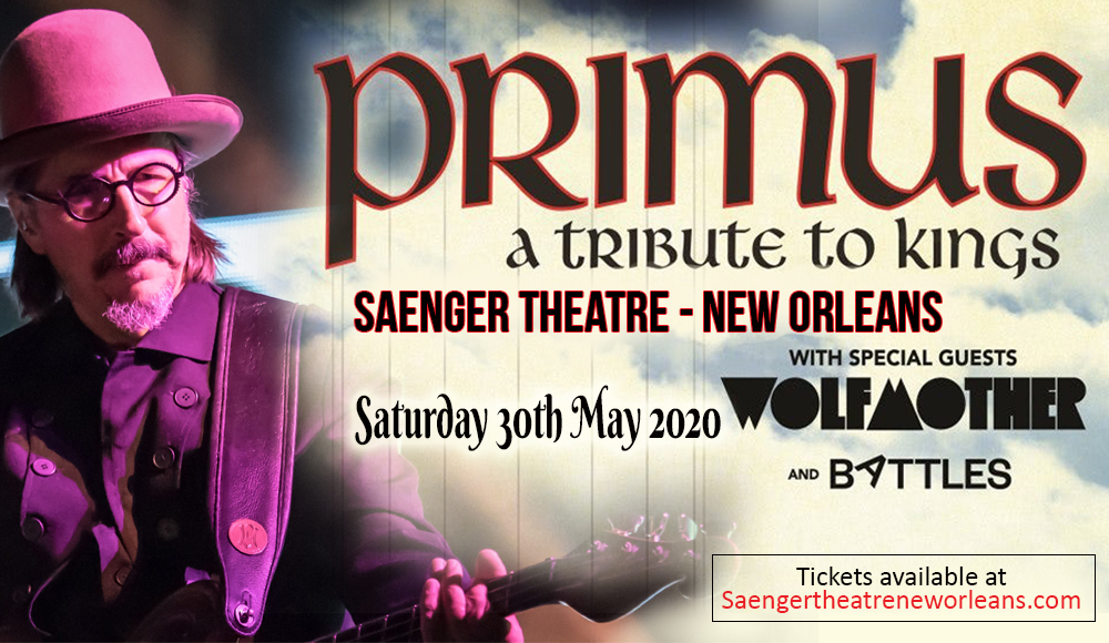 Primus at Saenger Theatre - New Orleans