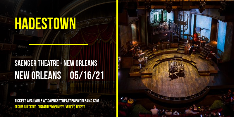 Hadestown at Saenger Theatre - New Orleans
