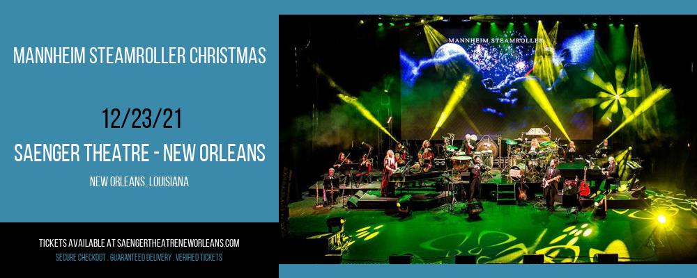 Mannheim Steamroller Christmas at Saenger Theatre - New Orleans