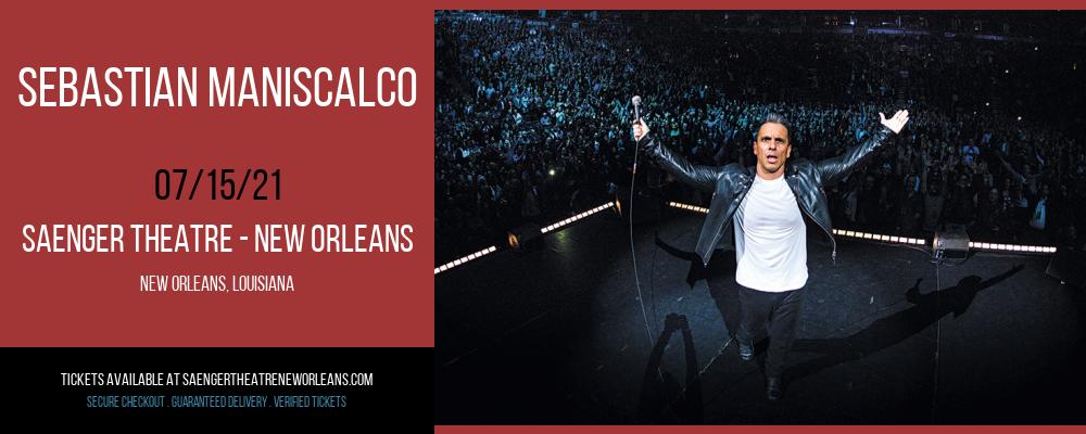 Sebastian Maniscalco at Saenger Theatre - New Orleans